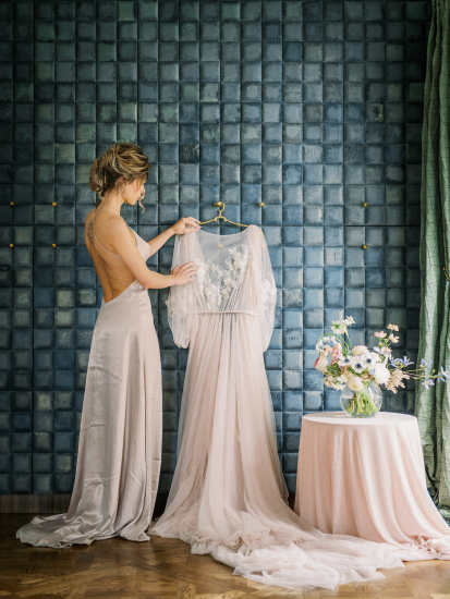 Antique French Brass Dress Hanger