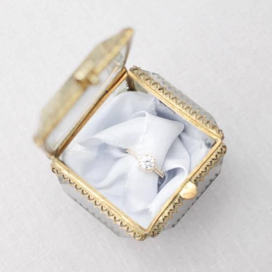 French Ormolu Glass Box