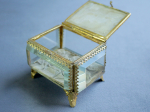 Antique Ormolu Jewel Box