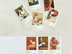Unused vintage oversized postage stamps  set
