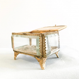 Antique Ormolu Jewel Box